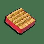 baklava pistachio box 500 grams بقلاوة بالفستق